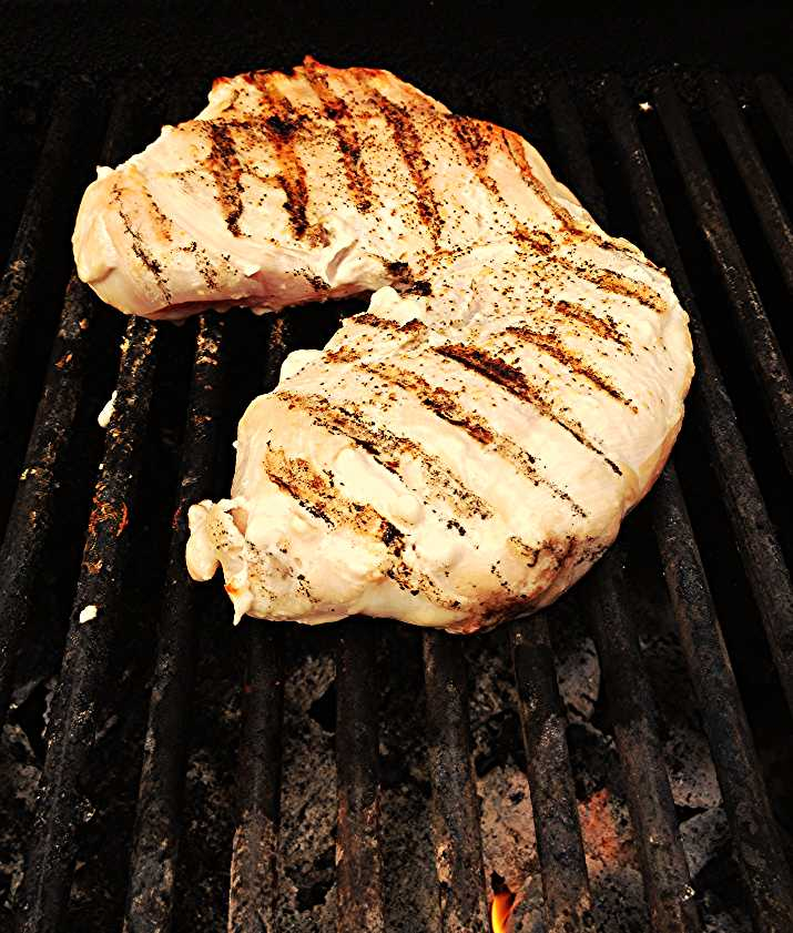grilling chicken breasts