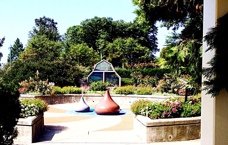 Chocolate kiss steam fountains