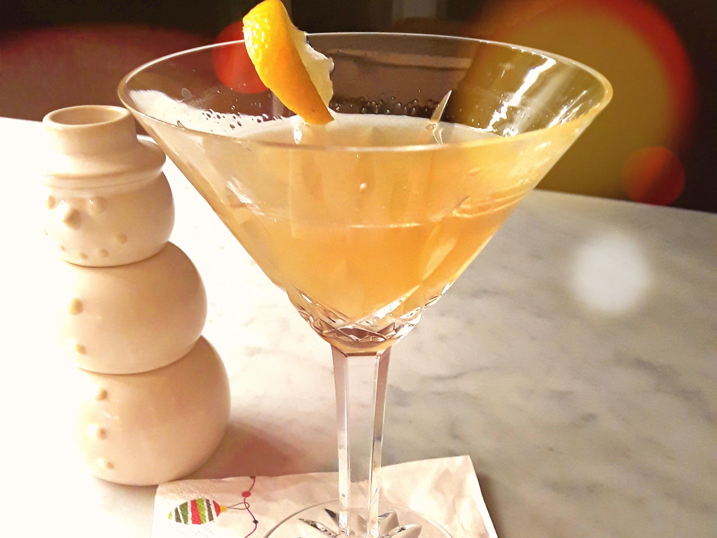 sunny bourbon sidecar