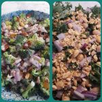 broccoli and kale salads
